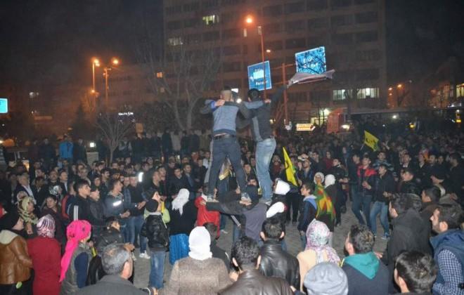 Siirt'te Kobani Kutlaması Yapıldı