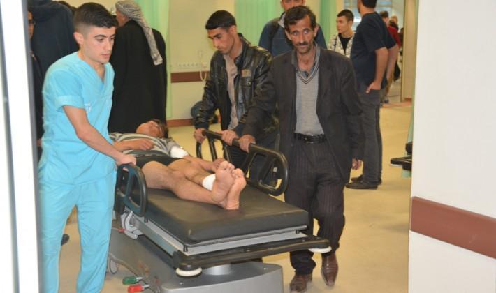 Siirt'te Mayın Patlaması Sonucu 1 Kişi Yaralandı