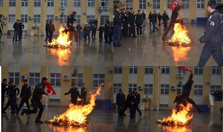 POLİS OKULUNDA BAHAR ŞENLİĞİ YAPILDI