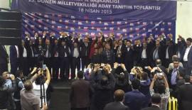 AK Parti Siirt Adayları Tanıtımı Yapıldı