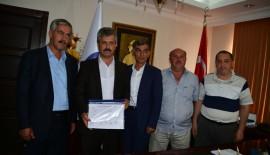 Tillo Belediye Başkanı Aydın, Mazbatasını Aldı