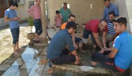 Tarihi Camide Bel Fıtığı İçin Su Terapisi