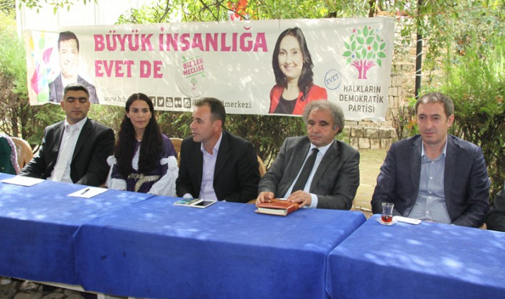 Siirt HDP Adaylarını Tanıttı