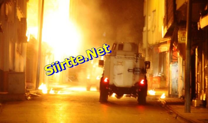 Siirt'te Polise Silahlı Saldırı Yapıldı