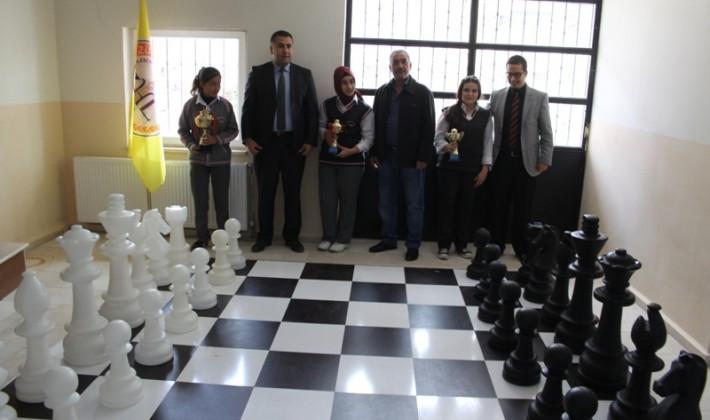 Zübeyde Hanım Lisesinde Satranç Turnuvası Yapıldı