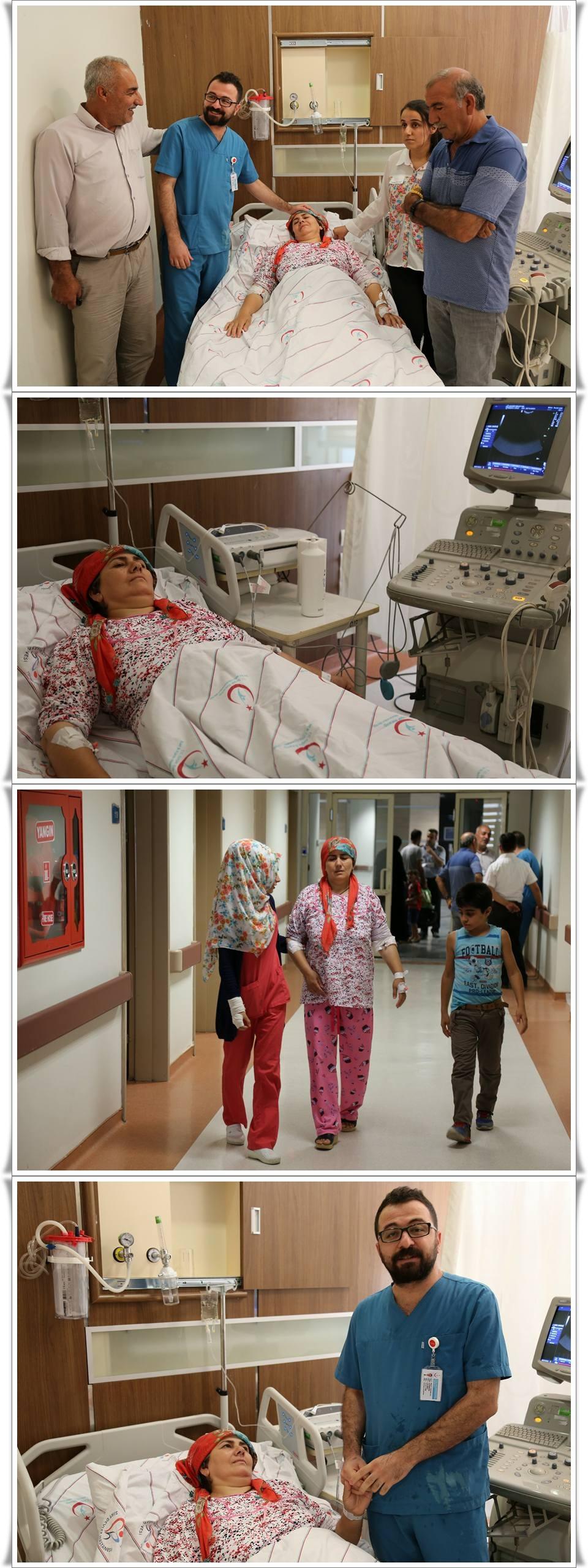 Siirt'te İlk Kez Kapalı Rahim Ameliyatı Gerçekleştirildi (1)-vert