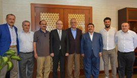 AK Parti Bursa Milletvekilleri Aydın ve Mesten Siirt'te Ziyaretlerde Bulundular