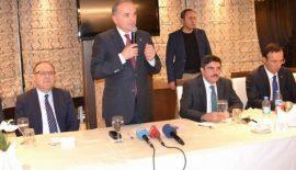 Bakan Özlü Terör Yatırımları Akamete Uğratıyor