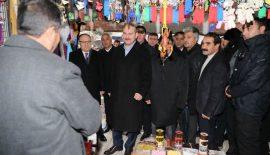 İçişleri Bakanı Soylu, Esnaf Ziyaretinde Bulundu