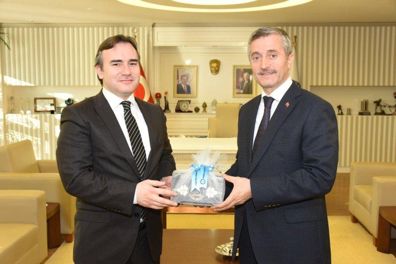 Başkan Taşkın ve Ekibi Şahinbey Belediyesini Ziyaret Etti