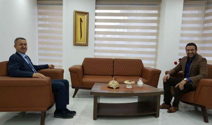Emniyet Müdürü Tokyay'dan ASKON'a Ziyaret