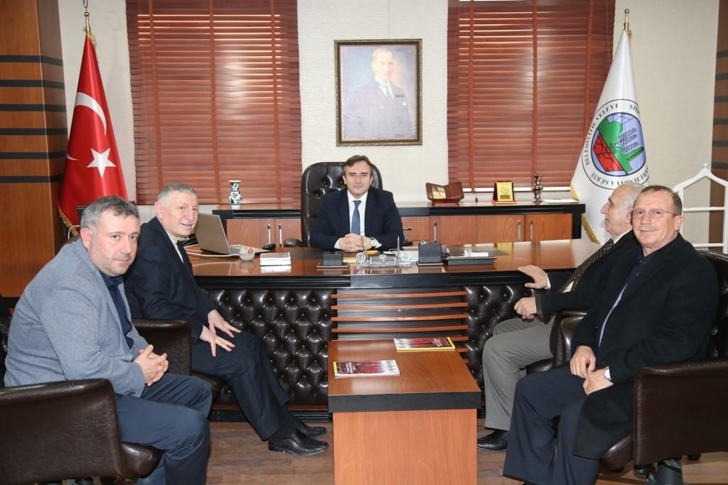 Stso Heyeti Başkan Vekili Taşkın'ı Ziyaret Etti