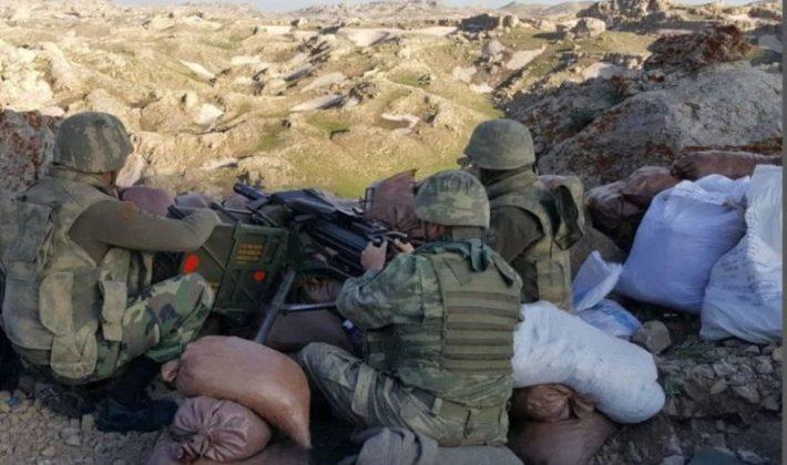 Herekol'da PKK'nın 3 Mağarasında 18 Ton Malzeme Ele Geçirildi