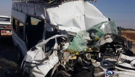 Siirt'te Trafik Kazası Açıklaması 14 Yaralı
