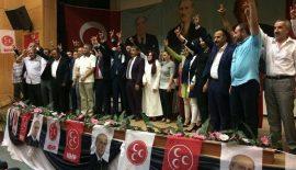 Siirt MHP Kongresinde Fatih Cantürk Güven Tazeledi