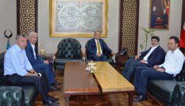 Siirt Milletvekili Aktay'dan Vali Atik'e Ziyaret
