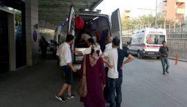 Yolcu Minibüsü İle Kamyonet Çarpıştı 12 Yaralı