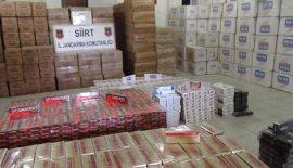 Siirt'te Kaçak Sigara Operasyonu Yapıldı