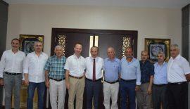 İSTANBUL HALI İHRACATÇILARI BİRLİĞİ (İHİB)'DEN, VALİ ATİK'İ ZİYARET
