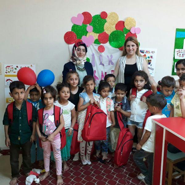 Siirt'te GAP Cheetos ÇGM Öğrencilerine Başarı Belgeleri Verildi