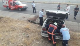 Siirt'te Trafik Kazası 1 Yaralı