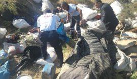 Siirt'te Kamyonet Devrildi 2 Ölü, 6 Yaralı