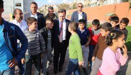 Çocuklardan Belediye Başkanına Sevgi Seli
