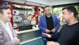 Belediye Başkan Vekili Ceyhun Dilşad Taşkın Esnaf Ziyaretinde Bulundu