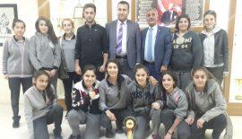 Futsal İl Birinciliği Zübeyde Hanım Lisesinin Oldu