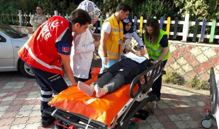 Özel İbn-i Sina Hastanesinde Doğal Afet  Tatbikatı Yapıldı