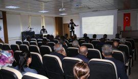 Narkotik Şube'den Belediye Zabıta Personellerine Bağımlılıkla Mücadele Eğitimi
