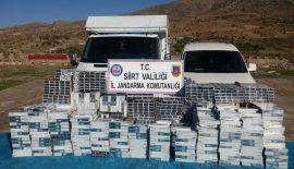 24.500 Paket Kaçak Sigara Ele Geçirildi