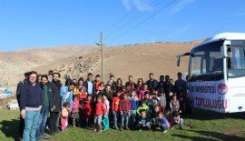 Üniversitemiz Öğrencilerinden Sütlüce Köyü İlköğretim Okulu Öğrencilerine Destek