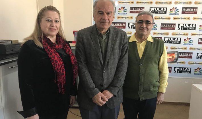 Prof.Dr. Asaf Varol Ve Eşi  Öğretim Görevlisi Nurhayat Varol Siirt'i Ziyaret Ettiler