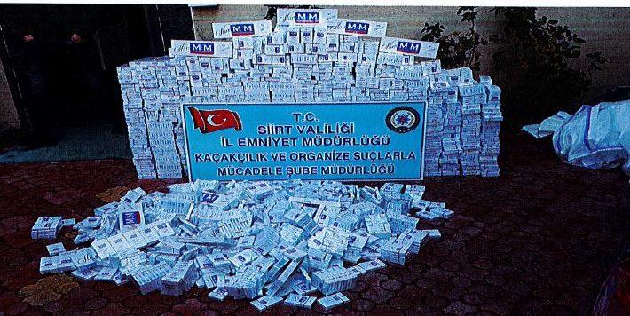 Emniyet, Sigara Kaçakçılarına Geçit Vermiyor
