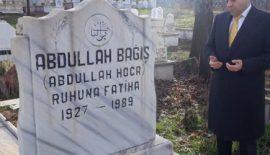 Hemşerimiz Bağış Aile Mezarlığını Ziyaret Etti